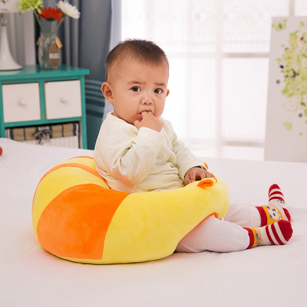Baby Infant Support Seat Sit Up Soft Learn Sitting Back