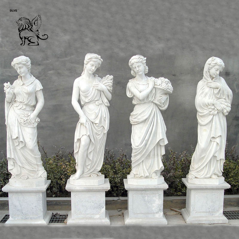 Garden Carving Stone Marble Greek God Statues Four Seasons Goddess Sculpture Buy Garden Marble Female Figure Sculpture Ancient Greek Four Seasons Goddess Statue Life Size Marble Ancient Greek Sculptures Four Season Goddess Carrara
