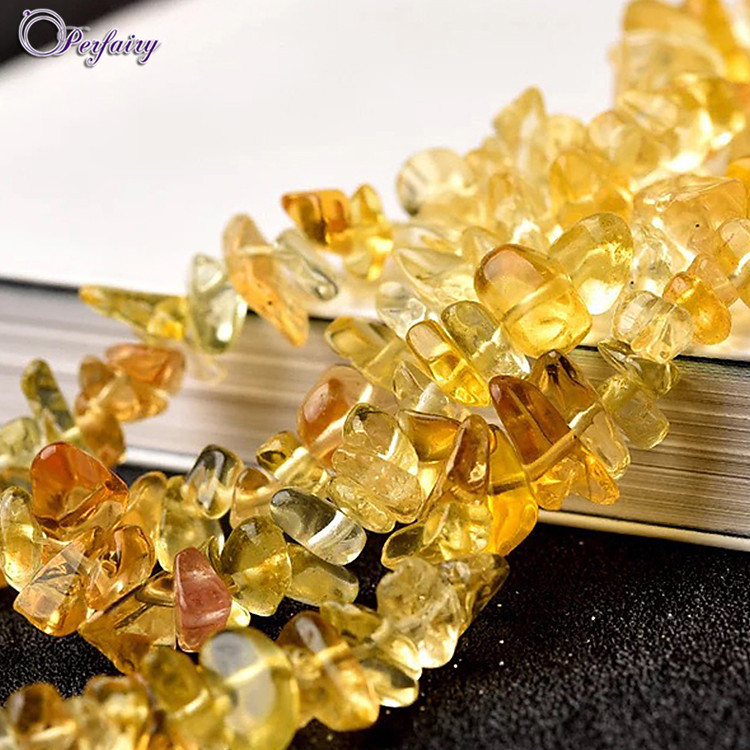 Citrine Chips Necklace