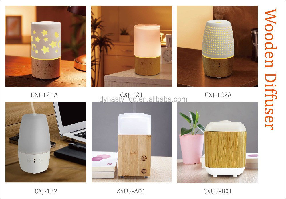 Aroma Diffuser With Ceramic Cover Buy Wooden Aroma