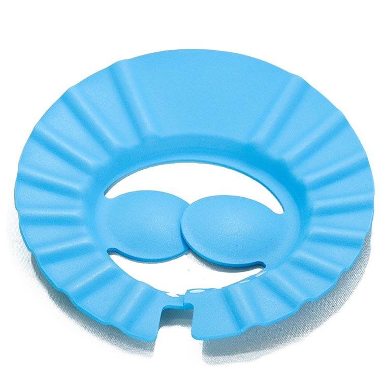 Мягкая защитная шапочка для душа, шапочка для купания, шапочка для шампуня для ребенка