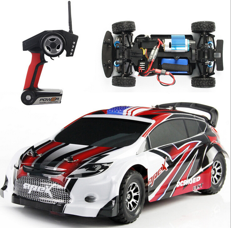 t l command 4wd 4 roues motrices rc racing voiture. Black Bedroom Furniture Sets. Home Design Ideas