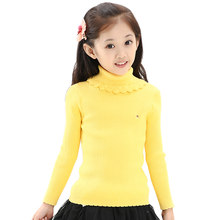 WEONEDREAM Универсальный Детский базовый плотный Высокий воротник свитер Одежда для девочек весна осень зима новинка 2019 детская одежда(Китай)