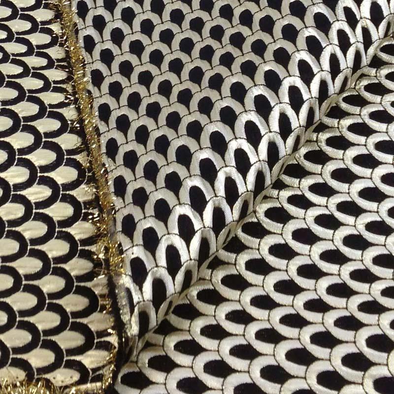 nice tissus ameublement haut de gamme 12 metallic jacquard brocade font b fabric b font cloth. Black Bedroom Furniture Sets. Home Design Ideas