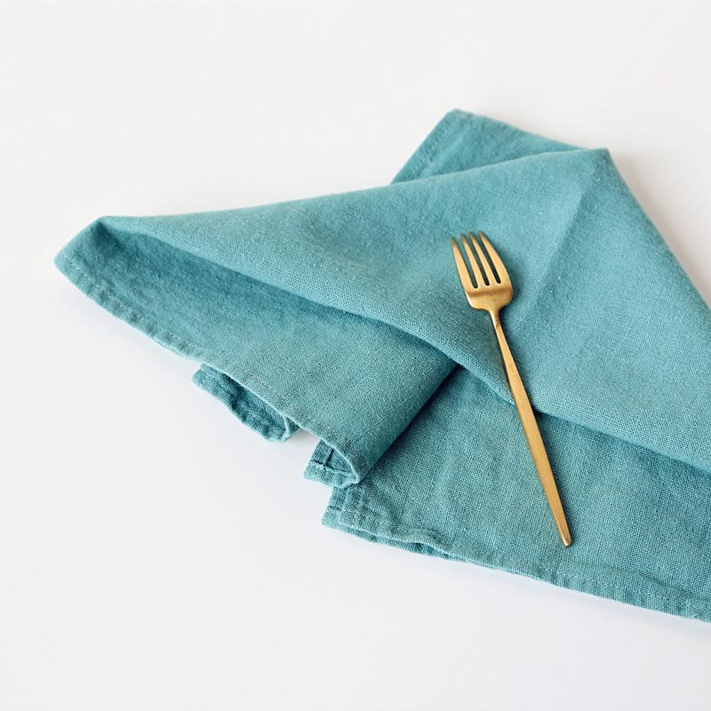 Винтажная промытая салфетка из 100% льна/льна, салфетка для стола