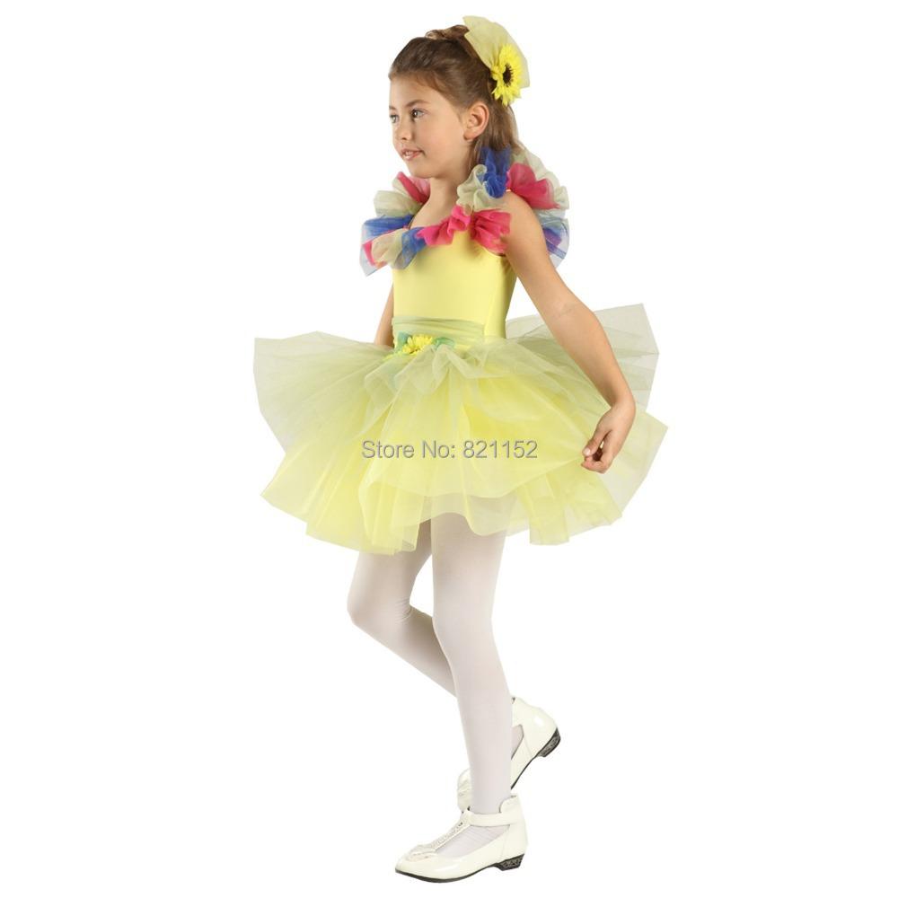Aliexpress.com : Buy Little Girls Performance Ballet Dance ...
