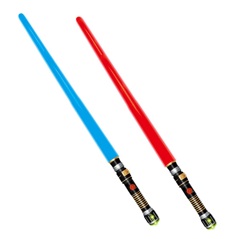Electric flashing sword fighting toy weapon set