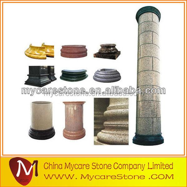 Прямая поставка с завода, изогнутые мраморные колонки