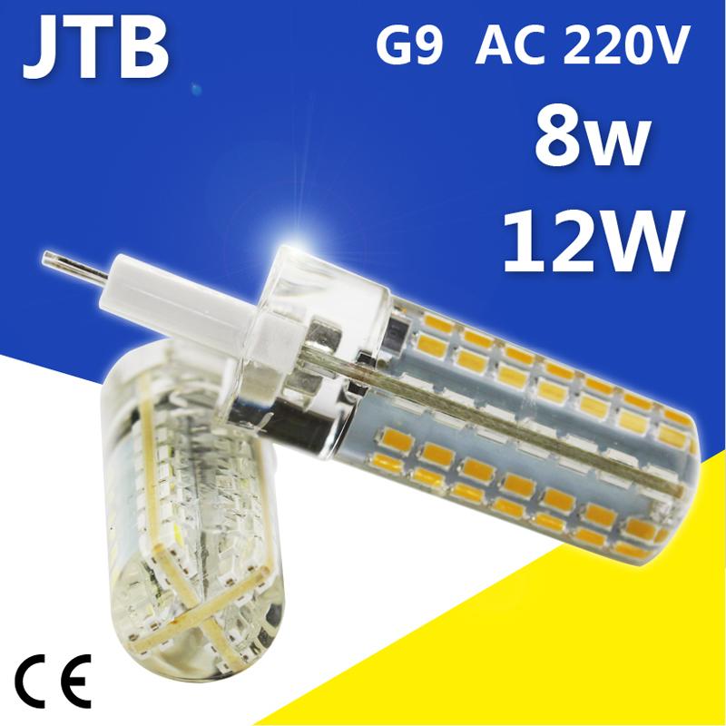g9 led light cob ac 220v 8w 12w smd 3014 led g9 pendant lights lighting ampoule luz chandelier. Black Bedroom Furniture Sets. Home Design Ideas