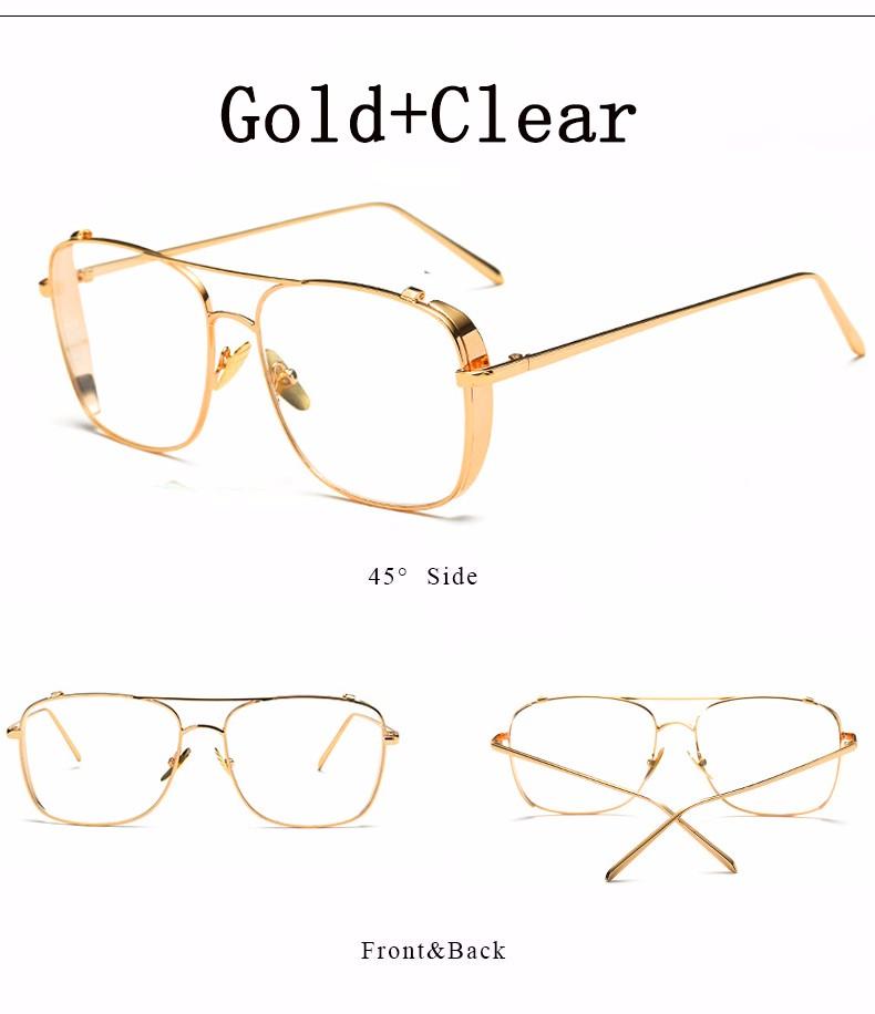 4436d637f6 2019 Wholesale New Fashion Square Glasses Frame Women Brand Designer ...