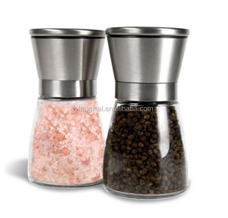 Высококачественная мельница для соли и перца из нержавеющей стали с керамической шлифовальной машиной