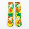 Yellow &terry towelling socks