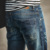 Youth jeans four seasons pants skinny juniors Ripped Frame spot supplies Denim trousers