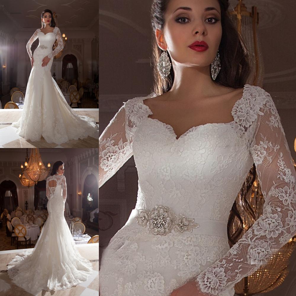Vestido De Casamento 2016 Free Shipping Vintage Lace