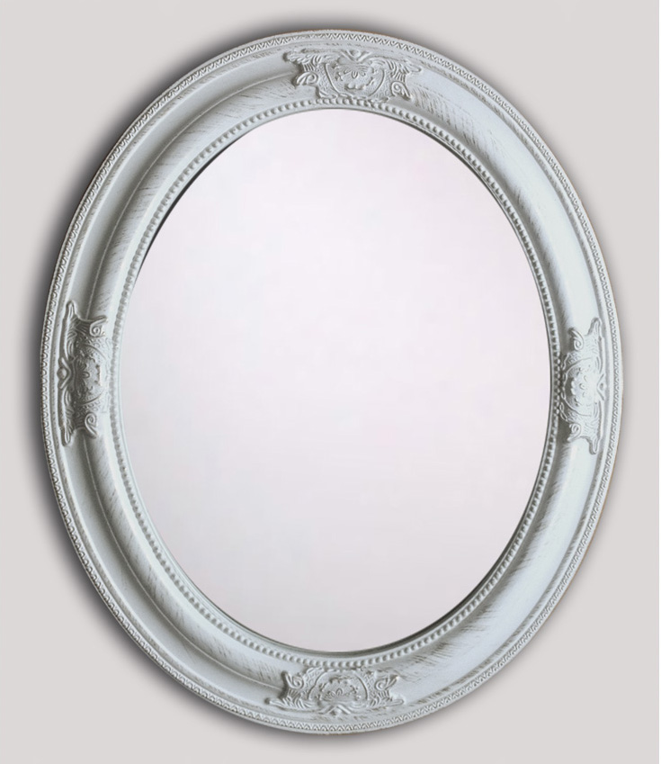 Large Bathroom Mirror Handmade Wood Frame Clear And Antique Mirror Oval Shape Wall Mounted Mirrors For Home Decor Buy Hotel Bathroom Wall Mounted Magnifying Mirror Wall Mounted Dressing Mirror Wall Mounted Lowes Bathroom Vanity Cabinets Product On
