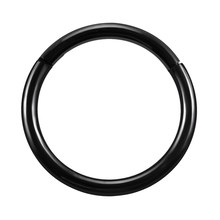 1 шт. G23 титановое шарнирное кольцо для носа 16 г и 14 г соска кликер ухо хрящ трагус Спираль пирсинг для губ унисекс модные ювелирные изделия(China)