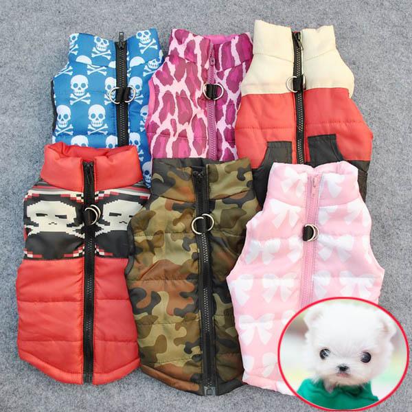 Домашнее животное Cat собака одежда мягкий мягкий жилет использовать щенок маленькие собаки пальто одежда