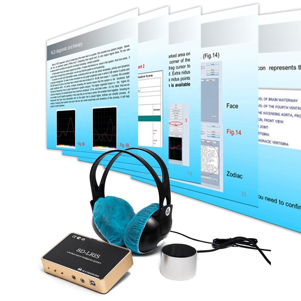 Жизненно-резонансная интеллектуальная система 8D NLS анализатор здоровья