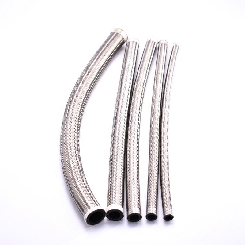AN3 4 6 8 10 12 16 проволока из нержавеющей стали автозапчасти шланг для масляного радиатора плетеный шланг