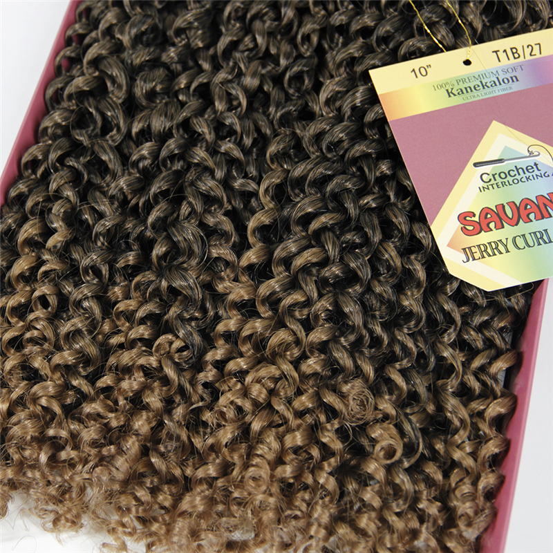 Freetress Deep Wave Jerry Curly Best Synthetic Hair 10inch
