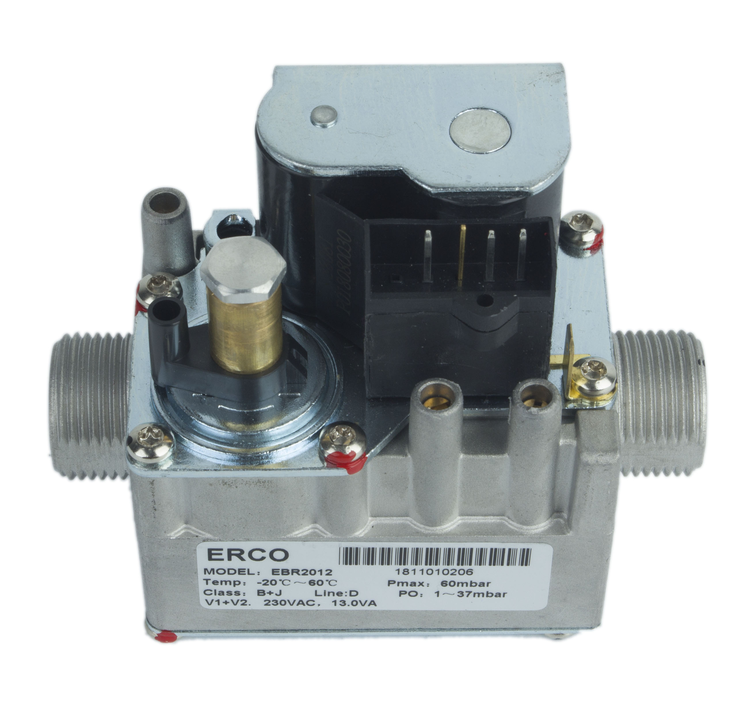 Pre-mix gas valve for condensing system