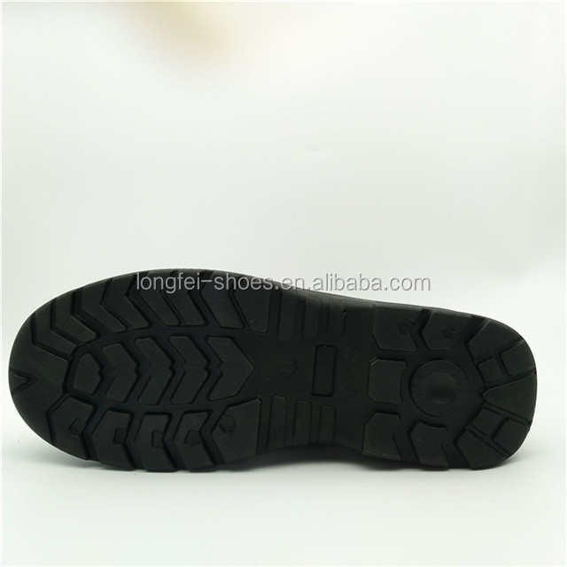 Genuine Leather pu sole steel toe safety boots china work boots