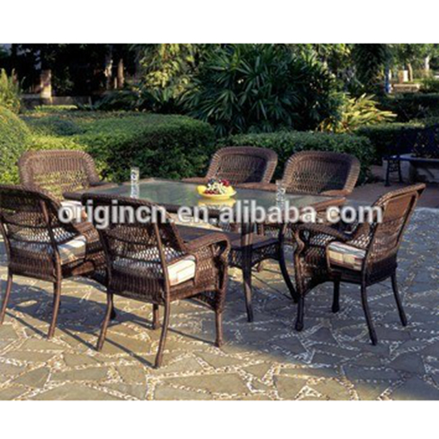 6 Seater Glass Top Design Restaurant Outdoor Wicker Vintage Dining Furniture Garden Sets Tables And Chairs Ratan Buy Garden Sets Tables And Chairs Ratan 6 Seater Glass Dining Table Wicker Dining Chairs Product