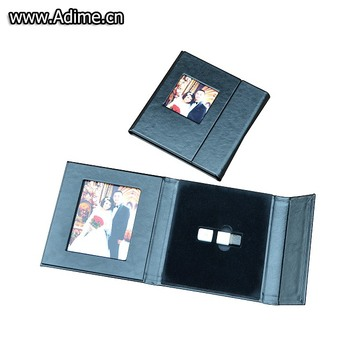 Wedding Leather Fabric Linen DVD USB Credit Card Packaging Box