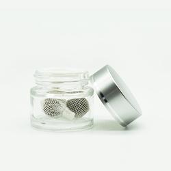 Оптовая продажа упаковочных стеклянных банок для 3 в 1 упаковке yoni detox Pearl стеклянные банки с винтовой крышкой