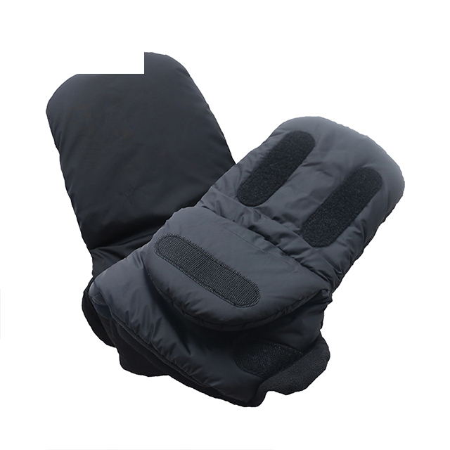 Baby Pram Pushchair Extra Warm Hand Muff Black