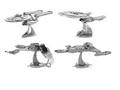 Star Trek 3D jigsaw puzzles for kids 2016 Star wars 7 Force Awaken 3D Nano metal