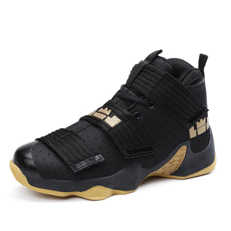 Новая модная дышащая сетчатая мягкая обувь с воздушной стелькой, Мужская Баскетбольная обувь для баскетбола, спортивная обувь до щиколотки