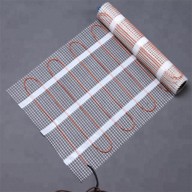 2020 Electrical heating mat indoor heating system under tile electric heat cable in home T mat