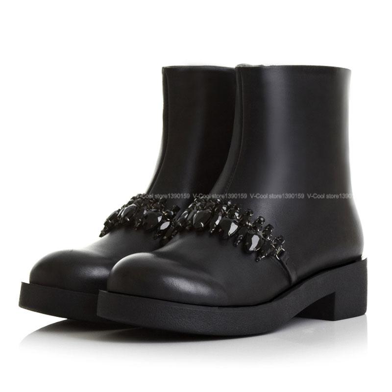 New 20156 Fashion Women Boots With Luxury Rhinestone