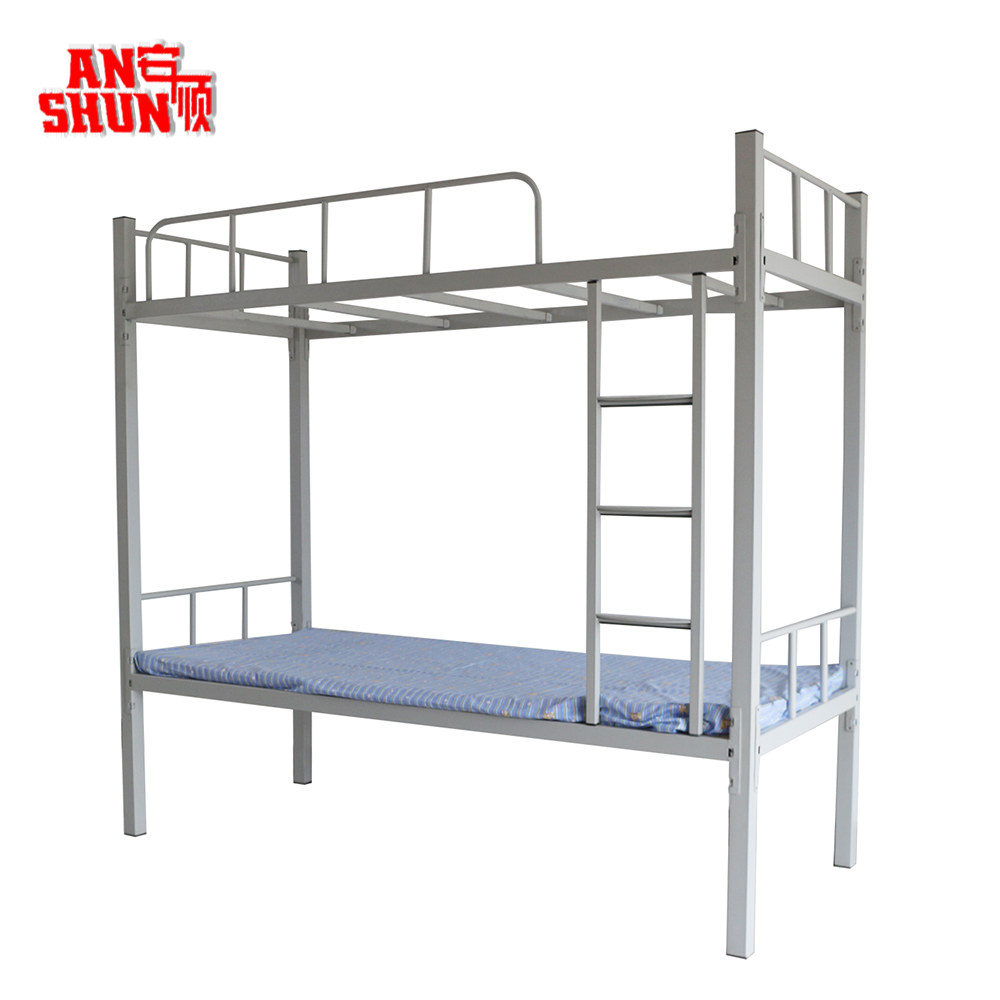 High Quality Low Price 2 Layer Metal Bed Simple Design Used Military Metal Bunk Beds Buy Metal Bunk Beds Military Bunk Bed Metal Beds Product On Alibaba Com