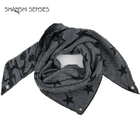 Triangle Scarf Pattern Scarf 75% Acrylic 25% Polyester Ladies Camo Stars Triangle Scarf