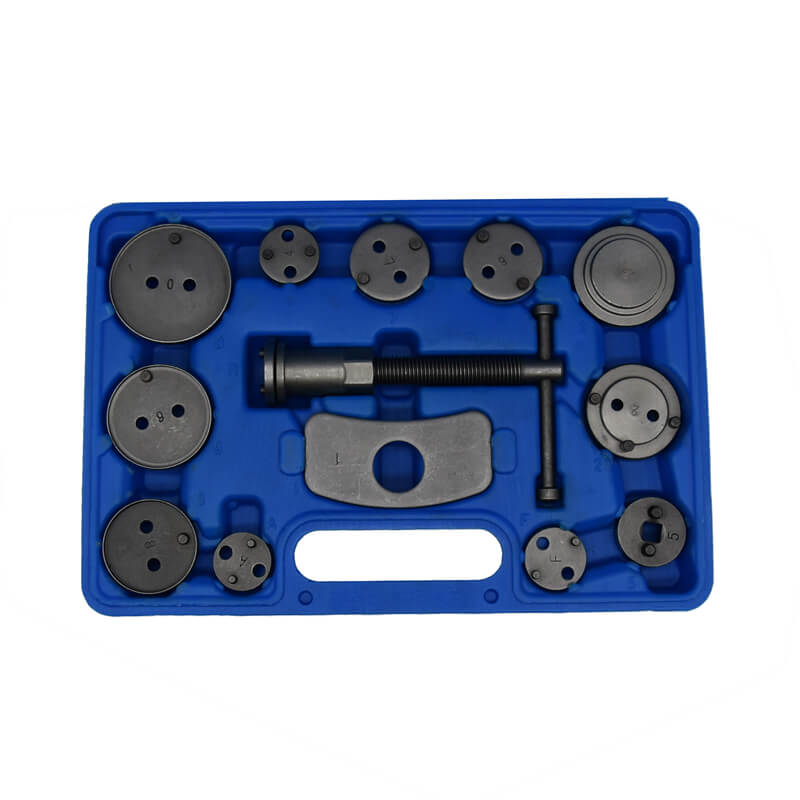 12pc Disc Brake Caliper Piston Rewind Wind Back Repair Tool Kit