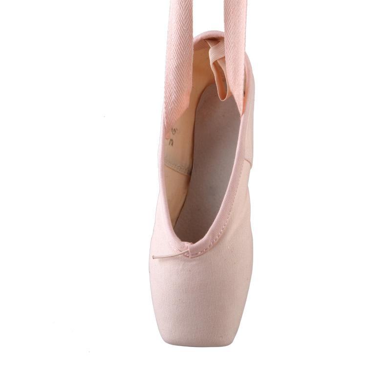 Холщовые балетные туфли для танцев 06B5B001, пуанты для балета