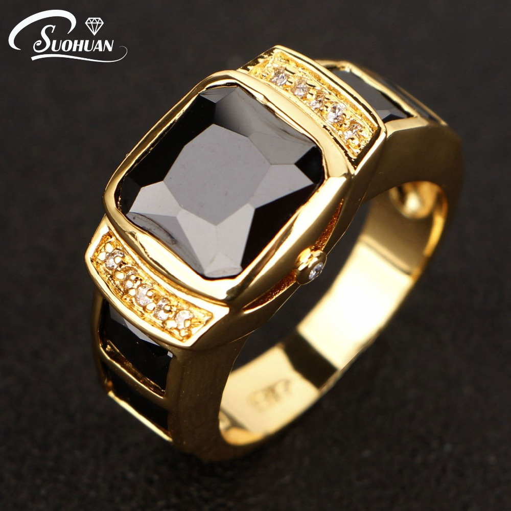 Black Diamond Anniversary Ring