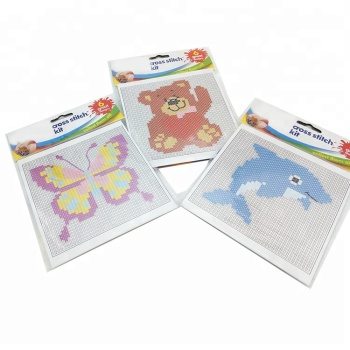 Hot Sale Promotional Craft Set Children DIY Set Cross Stitch Kit
