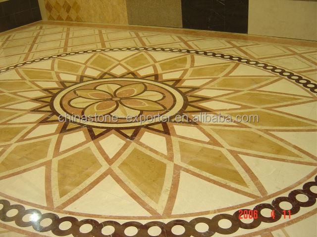 Elegant Water Jet Flower Marble Flooring Design - Buy Flower Marble Flooring Design,Waterjet,Crystal Glass Mosaic Product On Alibaba.com