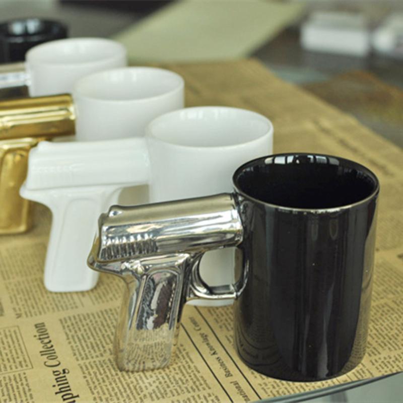 Uchome Gun Shape Ceramic Office Mug Ceramic Mug With Handle Gun Coffee Mug Buy Ceramic Mug With Lid Ceramic Coffee Mug With Big Handle Gun Mug Factory Sell Product On Alibaba Com