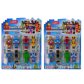 2 sets Minecraft Series 3 Toys 2015 New Anime minecraft sword steve juguetes figurine pickaxe decoration