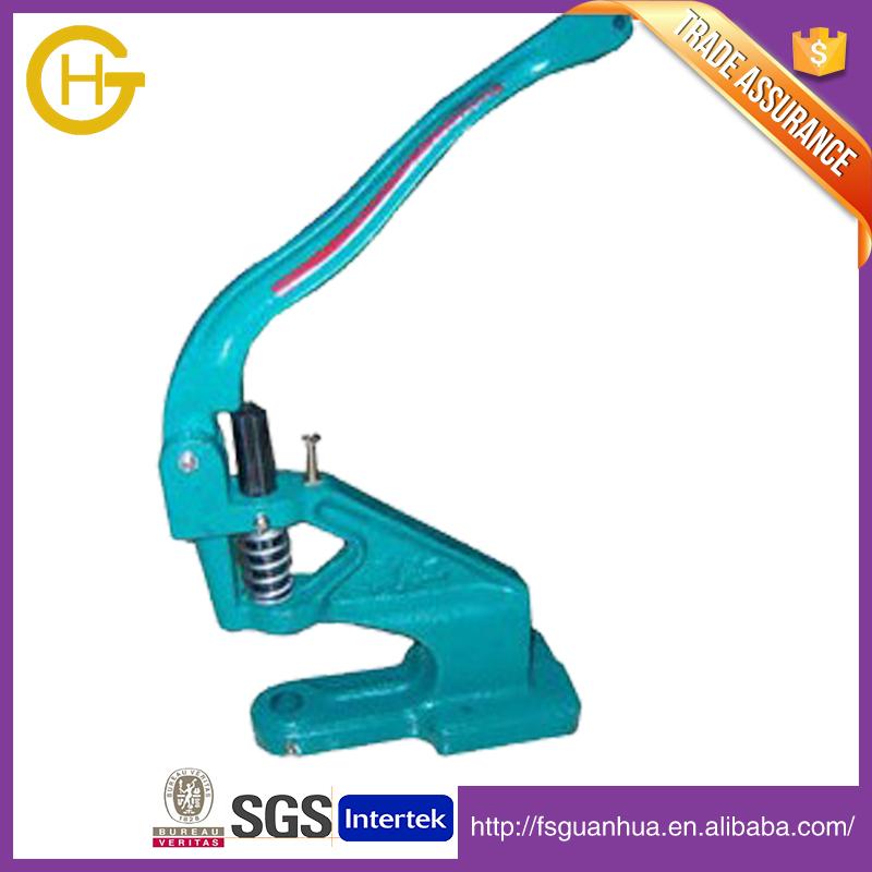 For eyelet green manual hand press machine