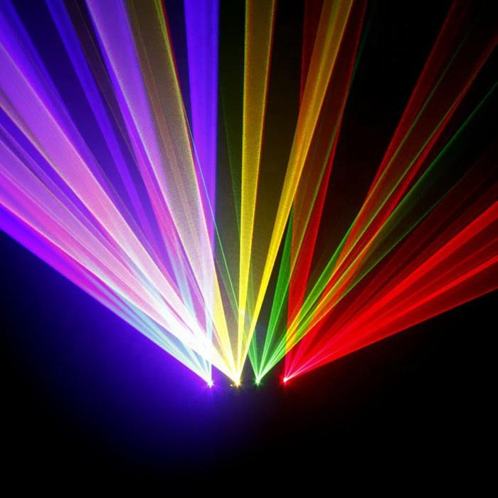 Бренд Baisun Guangzhou, четыре головки, красный, зеленый, синий лазерный свет, DJ диско-шоу, клубный сценический лазерный свет