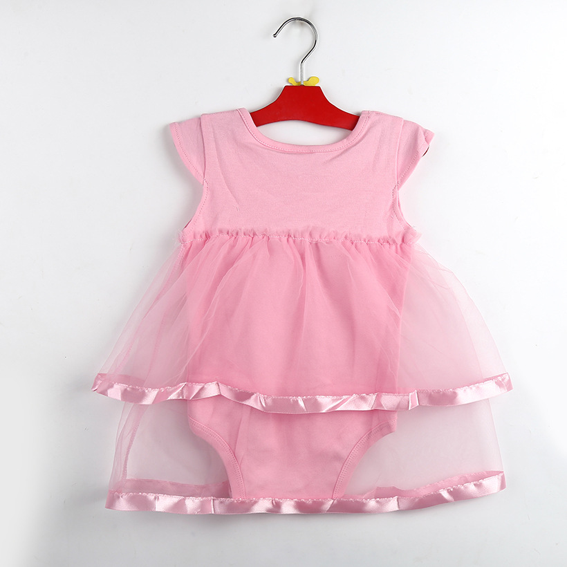 353e2db2ccf7c 1-2years New Born Baby Girls Infant Dress clothes Summer Kids Party  Birthday Outfits Shoes Set ...