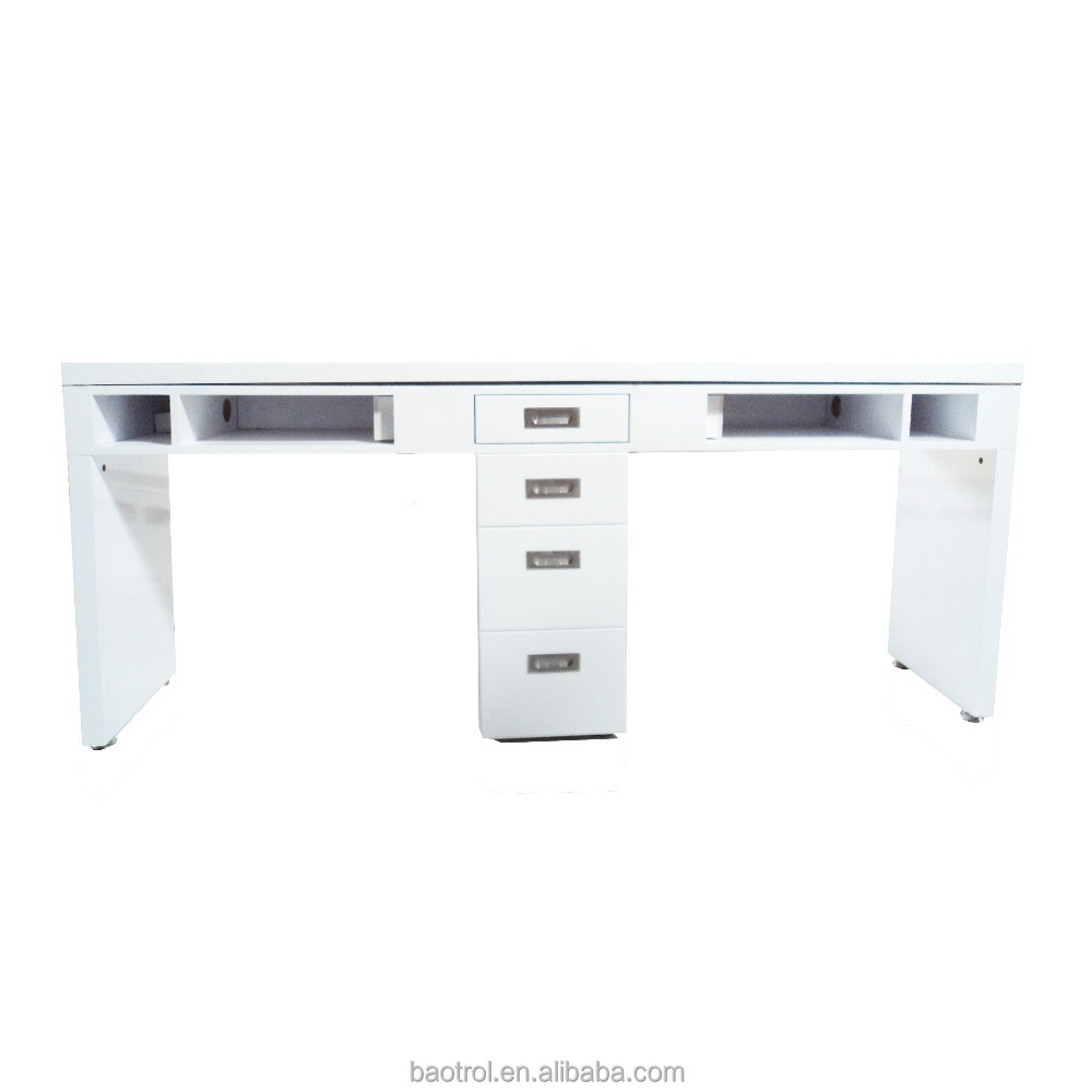 Cheap Europe Nail Table White Manicure With Arm Pillow And Exhaust Buy For Sale Product On Alibaba Com