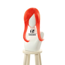 Женские волосы для косплея ROLECOS, 55 см, синтетические и оранжевые длинные волосы для косплея LOL Lux(Китай)