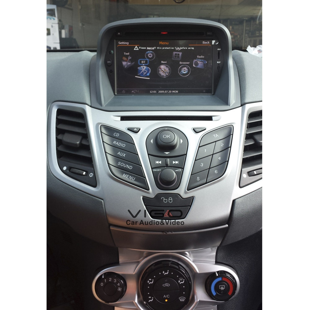 autoradio gps voor ford fiesta navigatie 2008 2012 multimedia autoradio navigatiesysteem. Black Bedroom Furniture Sets. Home Design Ideas