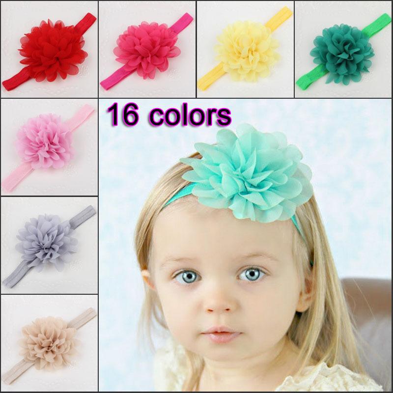 mode b b fille fleur cheveux bande bandeau serre t te accessoires cheveux 16 couleurs dans. Black Bedroom Furniture Sets. Home Design Ideas